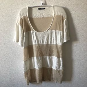 Brandy melville Striped T-shirt
